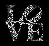 Het pictogram van de liefde Royalty-vrije Stock Fotografie