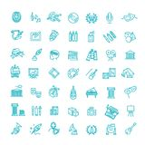 Het pictogram van de lijnkunst - Vector royalty-vrije illustratie
