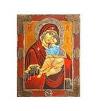 Het pictogram van de madonna royalty-vrije stock afbeelding