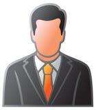 Het pictogram van de mens Stock Afbeelding