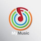 Het Pictogram van de muzieknota Royalty-vrije Stock Fotografie