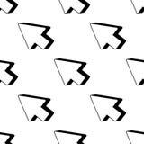 het pictogram van de pijlrichting Element van Spelpictogrammen voor mobiel concept en Web apps Het patroon herhaalt het naadloze  royalty-vrije illustratie