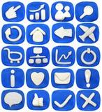 Het pictogram van de plasticine Royalty-vrije Stock Afbeeldingen