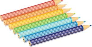 Het pictogram van de regenboog Stock Foto