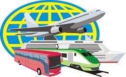 Het pictogram van de reis Royalty-vrije Stock Afbeelding