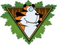 Het Pictogram van de Safari van de tijger Royalty-vrije Stock Foto's