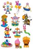 Het pictogram van de Speelplaats van het beeldverhaal Royalty-vrije Stock Afbeelding