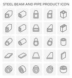 Het pictogram van de straalpijp Royalty-vrije Stock Foto's