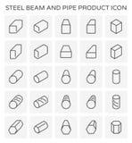 Het pictogram van de straalpijp Stock Afbeelding