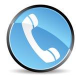 Het pictogram van de telefoon Stock Foto's