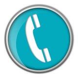 Het pictogram van de telefoon Stock Afbeelding