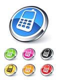Het pictogram van de telefoon Royalty-vrije Stock Afbeelding