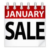 Het Pictogram van de Verkoop van januari Royalty-vrije Stock Afbeelding
