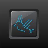 Het Pictogram van de vogel Stock Afbeeldingen