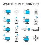 Het Pictogram van de waterpomp stock illustratie