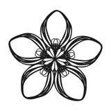 Het pictogram van de wildernisbloem, eenvoudige stijl vector illustratie