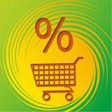 Het pictogram van de winkel Stock Afbeelding