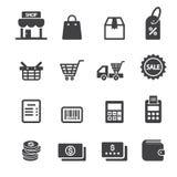 Het pictogram van de winkel Royalty-vrije Stock Afbeelding