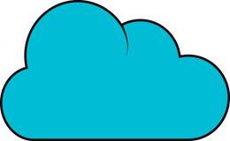 Het pictogram van de wolk Royalty-vrije Stock Afbeeldingen