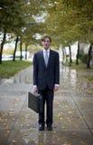 Het pictogram van de zakenman Stock Foto