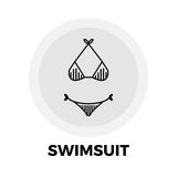 Het Pictogram van de zwempaklijn Royalty-vrije Stock Afbeelding