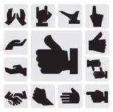 Het pictogram van handen Royalty-vrije Stock Fotografie