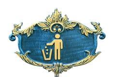 Het pictogram van het afval Stock Afbeelding