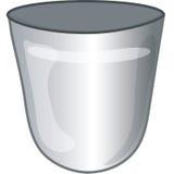 Het pictogram van het afval Stock Foto