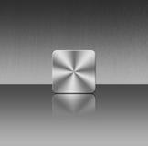 Het Pictogram van het aluminium Stock Fotografie