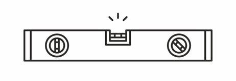 Het pictogram van het bellenniveau Royalty-vrije Stock Fotografie