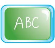 Het pictogram van het bord Stock Foto