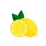 Het pictogram van het citroenfruit Royalty-vrije Stock Fotografie