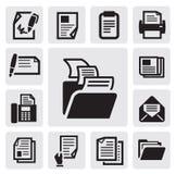 Het pictogram van het document Royalty-vrije Stock Foto's
