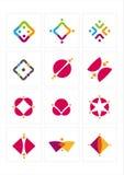 Het pictogram van het embleem Stock Afbeelding