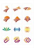 Het pictogram van het embleem Stock Foto's