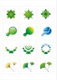 Het pictogram van het embleem Stock Foto