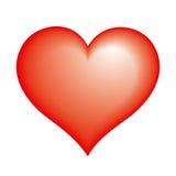 Het pictogram van het hart Stock Foto