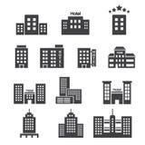 Het pictogram van het hotel Stock Foto's