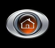Het pictogram van het huis Stock Afbeelding