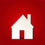 Het pictogram van het huishuis Stock Foto