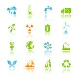 Het pictogram van het milieu Royalty-vrije Stock Afbeelding