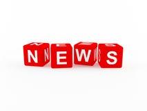 Het pictogram van het nieuws Royalty-vrije Stock Foto