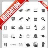 Het Pictogram van het onderwijs Stock Fotografie