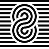 Het Pictogram van het oneindigheidssymbool Het vertegenwoordigen van het concept oneindige, onbegrensde en eindeloze dingen Multi stock illustratie