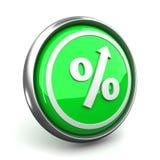 het pictogram van het percententeken Royalty-vrije Stock Afbeeldingen