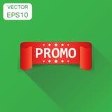 Het pictogram van het Promolint Pictogra van het de stickeretiket van bedrijfsconceptenpromo vector illustratie