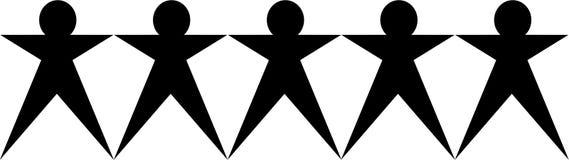 Het pictogram van het team royalty-vrije illustratie
