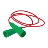 Het pictogram van het touwtjespringenbeeldverhaal Royalty-vrije Stock Foto's