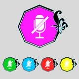Het pictogram van het updateteken Het volledige symbool van de omwentelingspijl reeks Stock Afbeelding