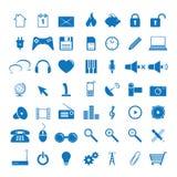 Het pictogram van het Web Stock Afbeelding